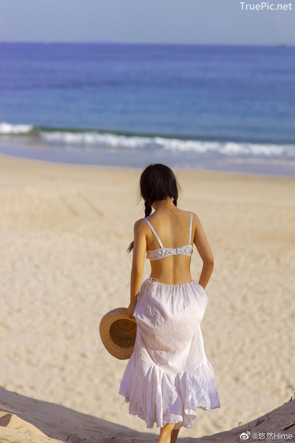 Chinese bautiful angel - Stay with you on a beautiful beach - TruePic.net - Picture 2
