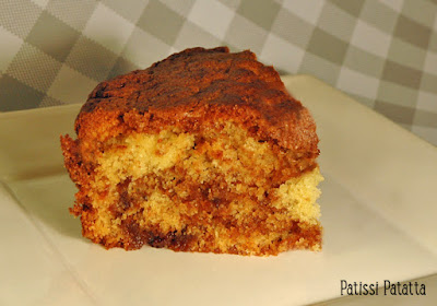 recette de cinamon crumb cake, gâteau à la cannelle, recette anglaise, british recipe, patissi-patatta