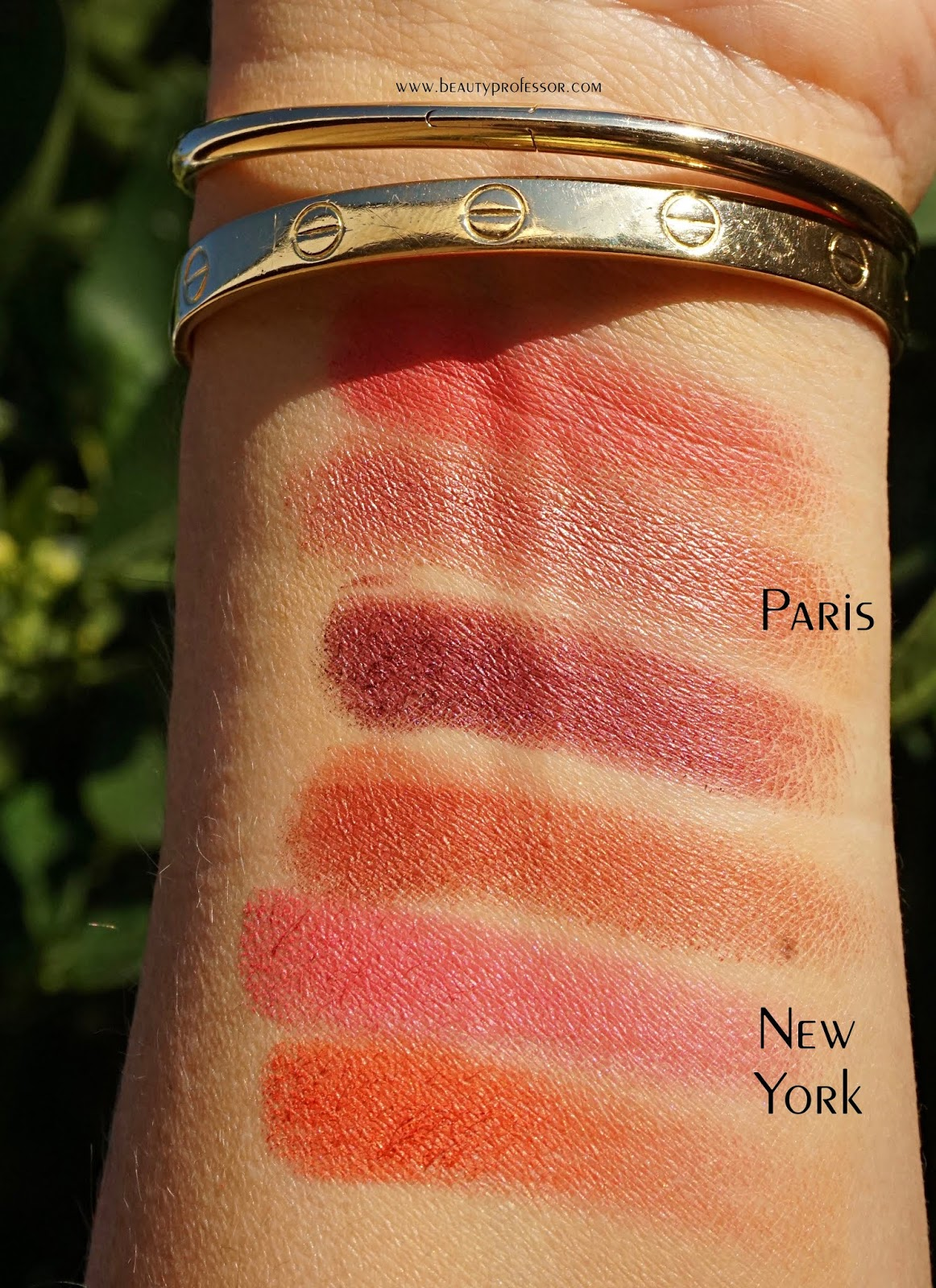 Laura Mercier Velour Lip Powder swatches