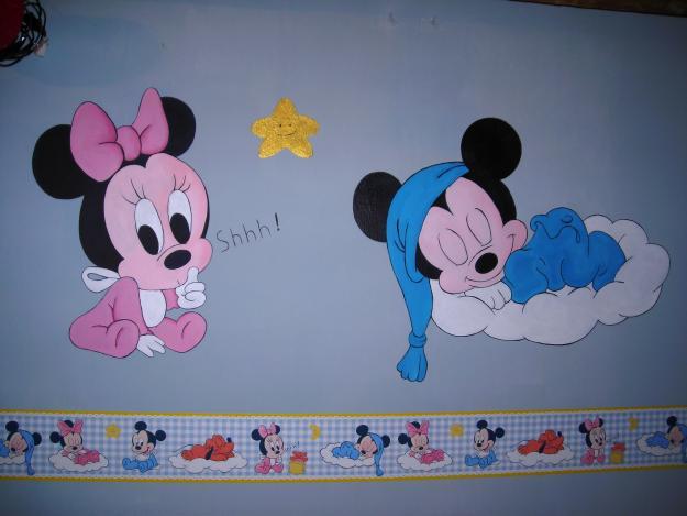 C mo pintar la habitaci n de los ni os dormitorios con - Dibujos para decorar habitacion de bebe ...