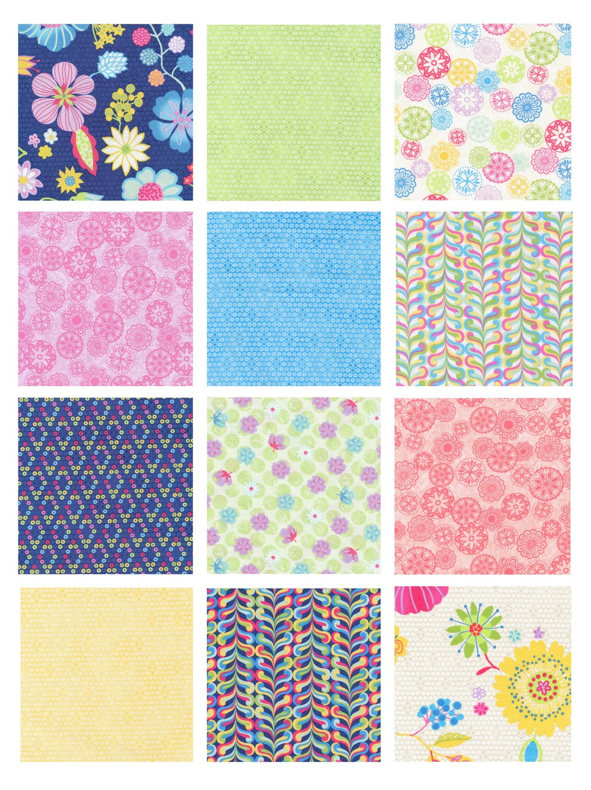 Free Quilt Patterns For Large Prints : Inspired by Fabric: If fabric makes you happy...