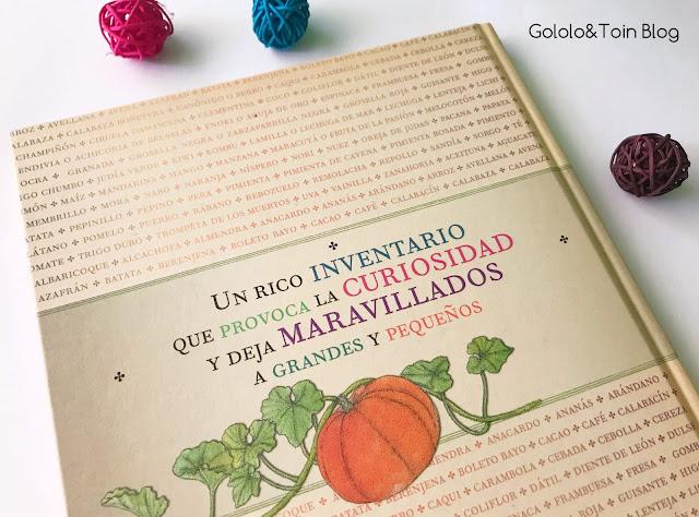 Inventario de frutas y verduras de Kalandraka