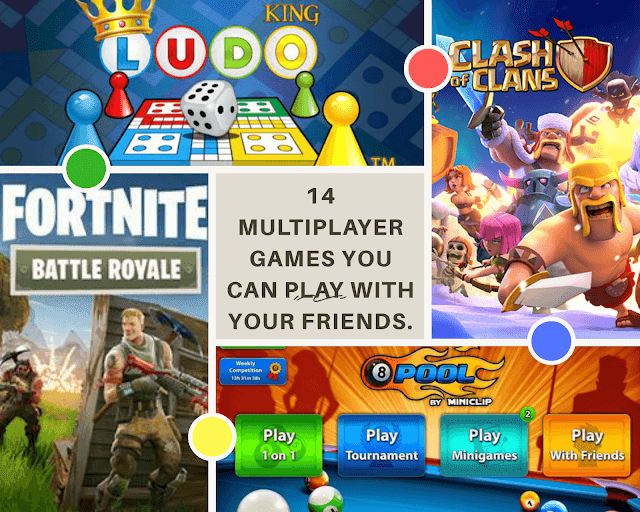 Multiplayer Games You Can Play With Your Friends Online