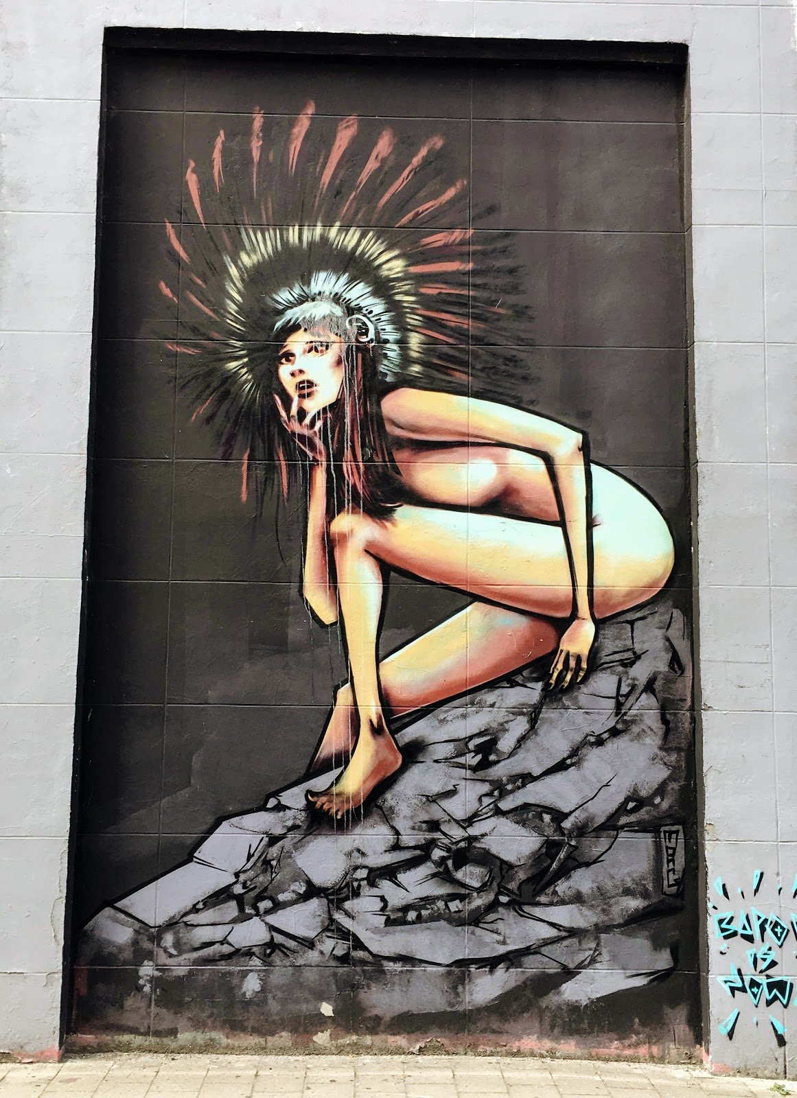 streetartgandkraankinderstraatgandgent