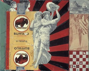 Pauline Boty, Untitled (Buffalo)