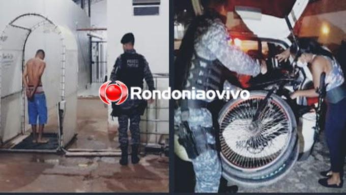 Adolescente é detido com porções de droga após assaltar mulher