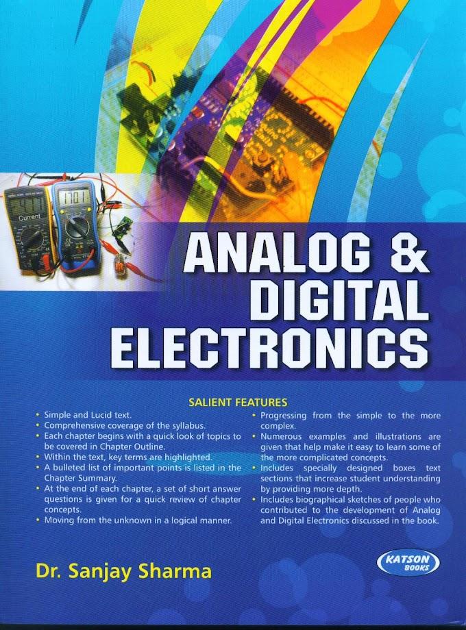 Digital and Analog Communication Book By Sanjay Sharma Pdf