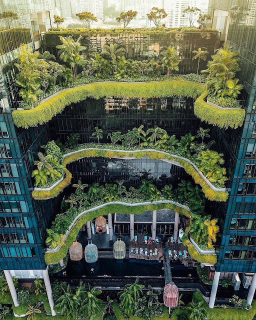An eco hotel in Singapore