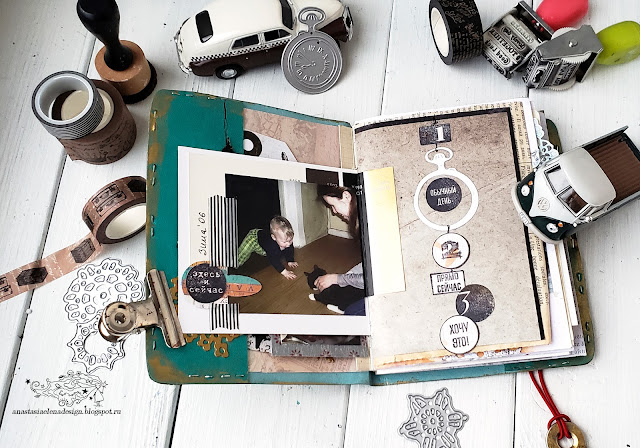 @nastyalena #travelbook #papercraft