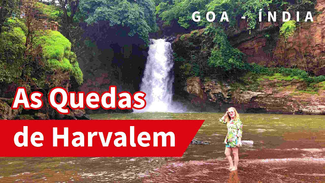 Harvalem Waterfall at Goa