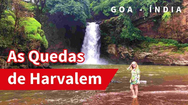 Harvalem Waterfall at Goa