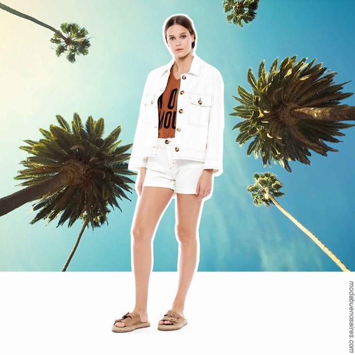 Moda mujer primavera verano 2020 ropa.