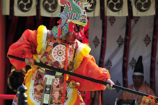 Yachi Donga Matsuri, Yachi Hachiman-gu Shrine, Kahoku-cho, Yamagata