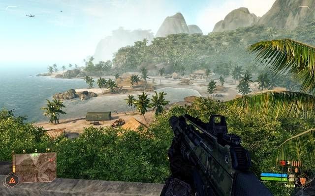 Crysis Warhead PC Games Screenshots