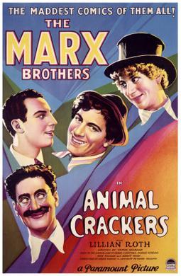 Marx Bros movie poster