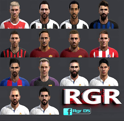 PES 2013 Fantasy Facepack by Rgr DS
