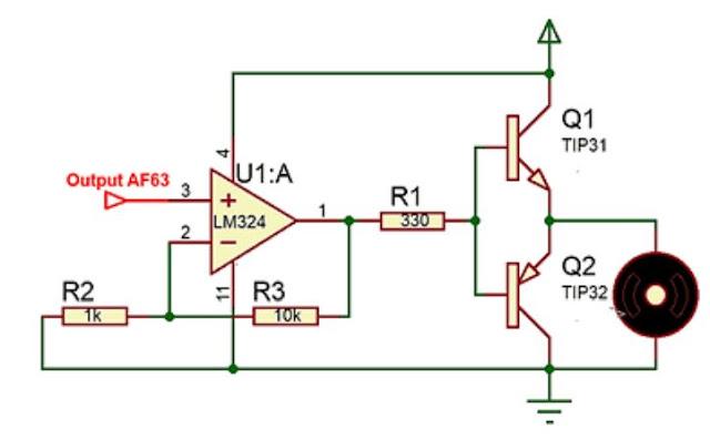 Implementasi sensor Gas AF63 dengan motor DC