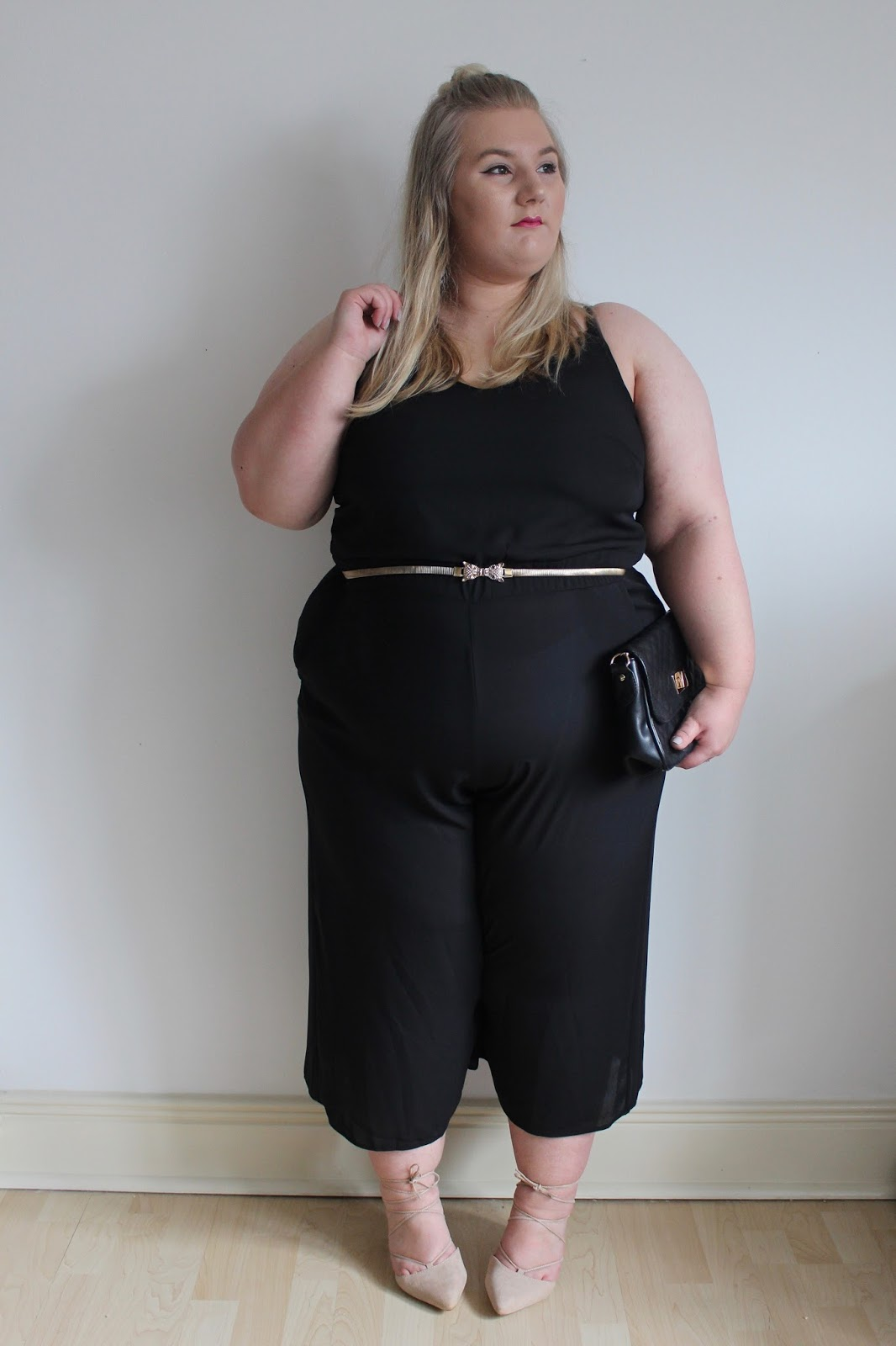 New Look Black Culottes Jumpsuit