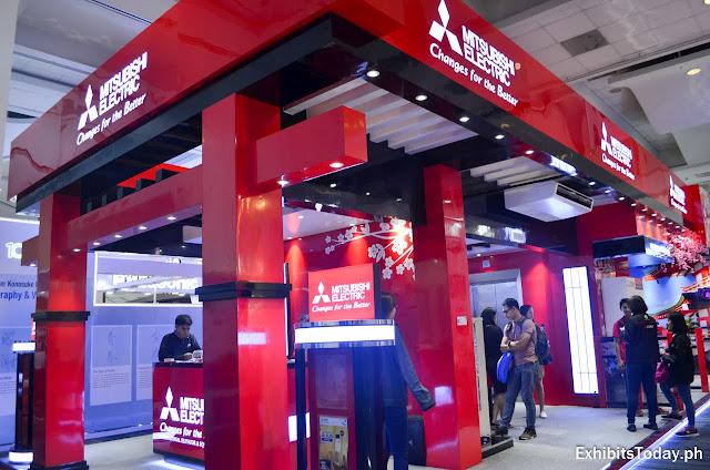 Mitsubishi Electric Tradeshow Display