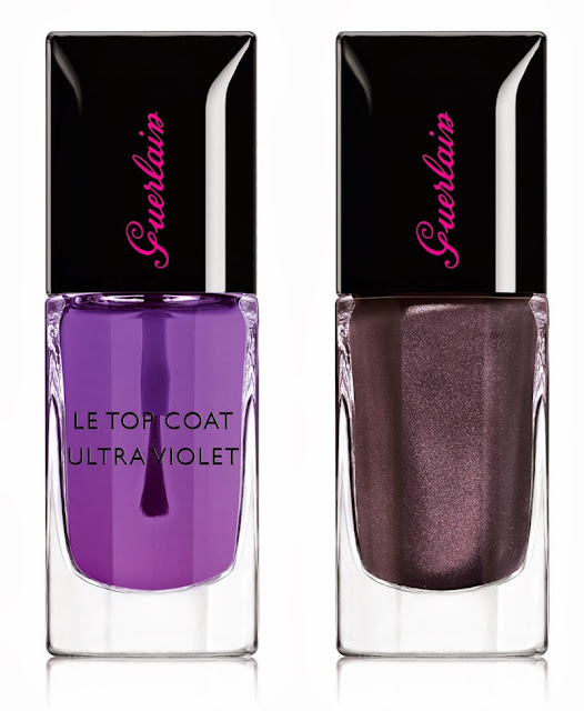 Guerlain Natale 2013 Crazy Paris Christmas Collection make up le top coat ultraviolet sulfurous