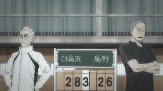 ハイキュー!! アニメ 3期3話   白鳥沢 監督 鷲匠鍛治   Karasuno vs Shiratorizawa   HAIKYU!! Season3