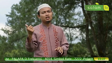 Frekuensi siaran Salam TV di satelit Palapa D Terbaru