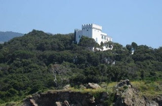 Visconti's villa on the island of Ischia