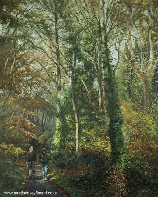 Southampton common oil painting