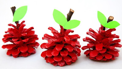Pinecone Apples by Non-Toy Gifts