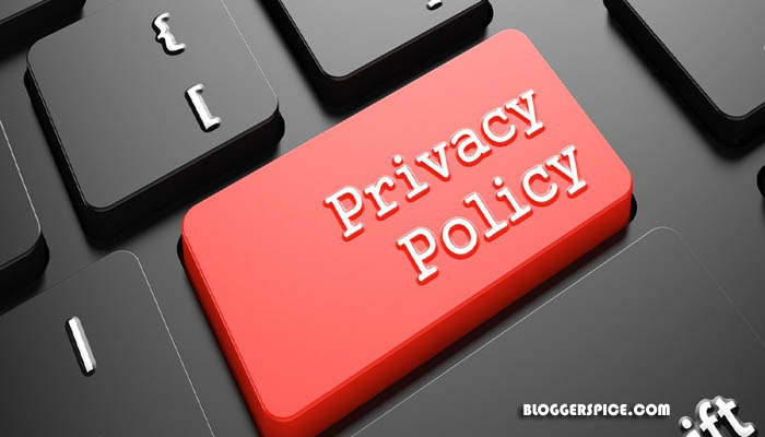 privacy policy of BloggerSpice