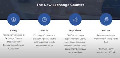 Exchange Counter Vtube 3.0