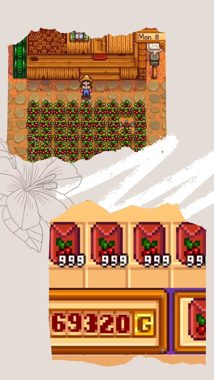 unlimited cranberry stardew valley