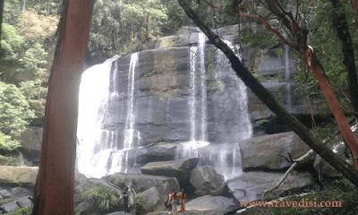 Informasi wisata alam kalbar yang mengulas tentang riam dait tingkat 7 atau yang biasa disebut air terjun riam dait ngabang,wisata alam terindah kalbar