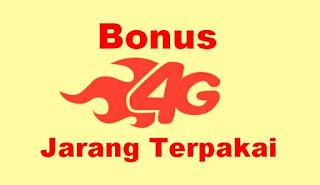 Mengapa Bonus 4G Tidak Berkurang dan tidak Terpakai ?