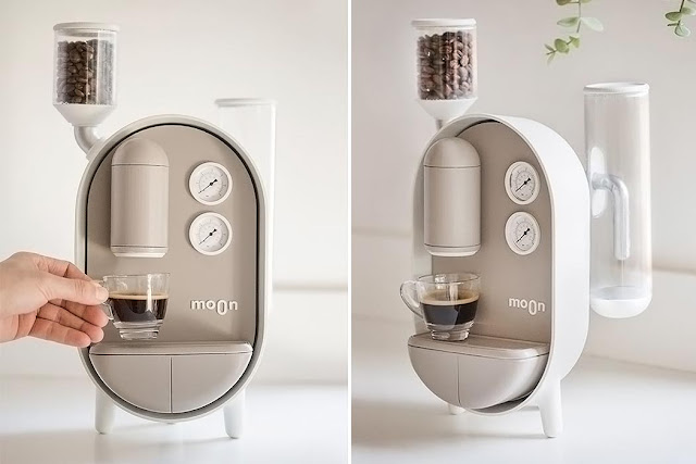 The Moon coffee maker
