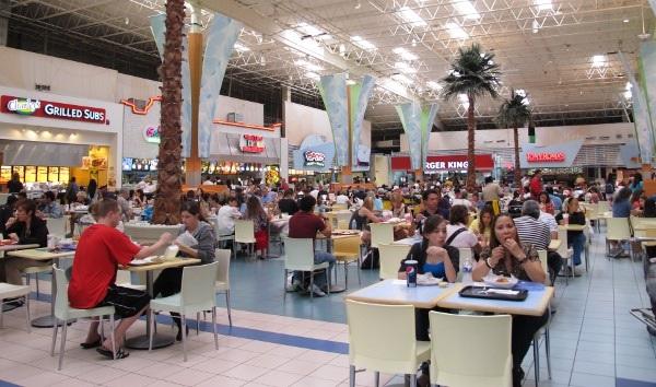 Restaurantes y donde comer en el Outlet Sawgrass Mills