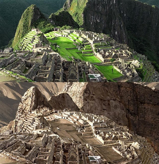 Aquecimento global by Joel Krebs - Machu Picchu - Peru