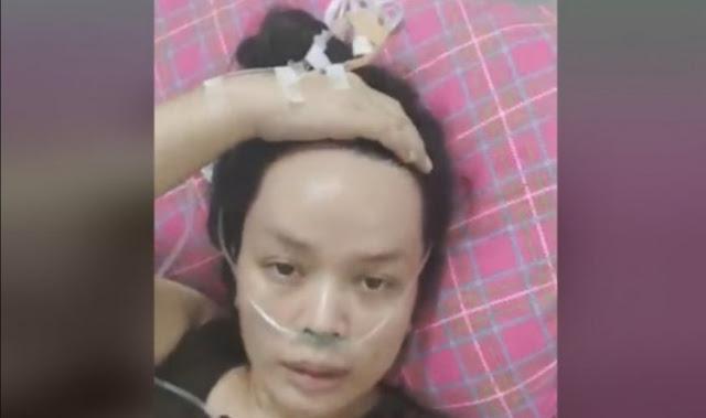 pasien corona meninggal minta minum 2 Jam baru datang