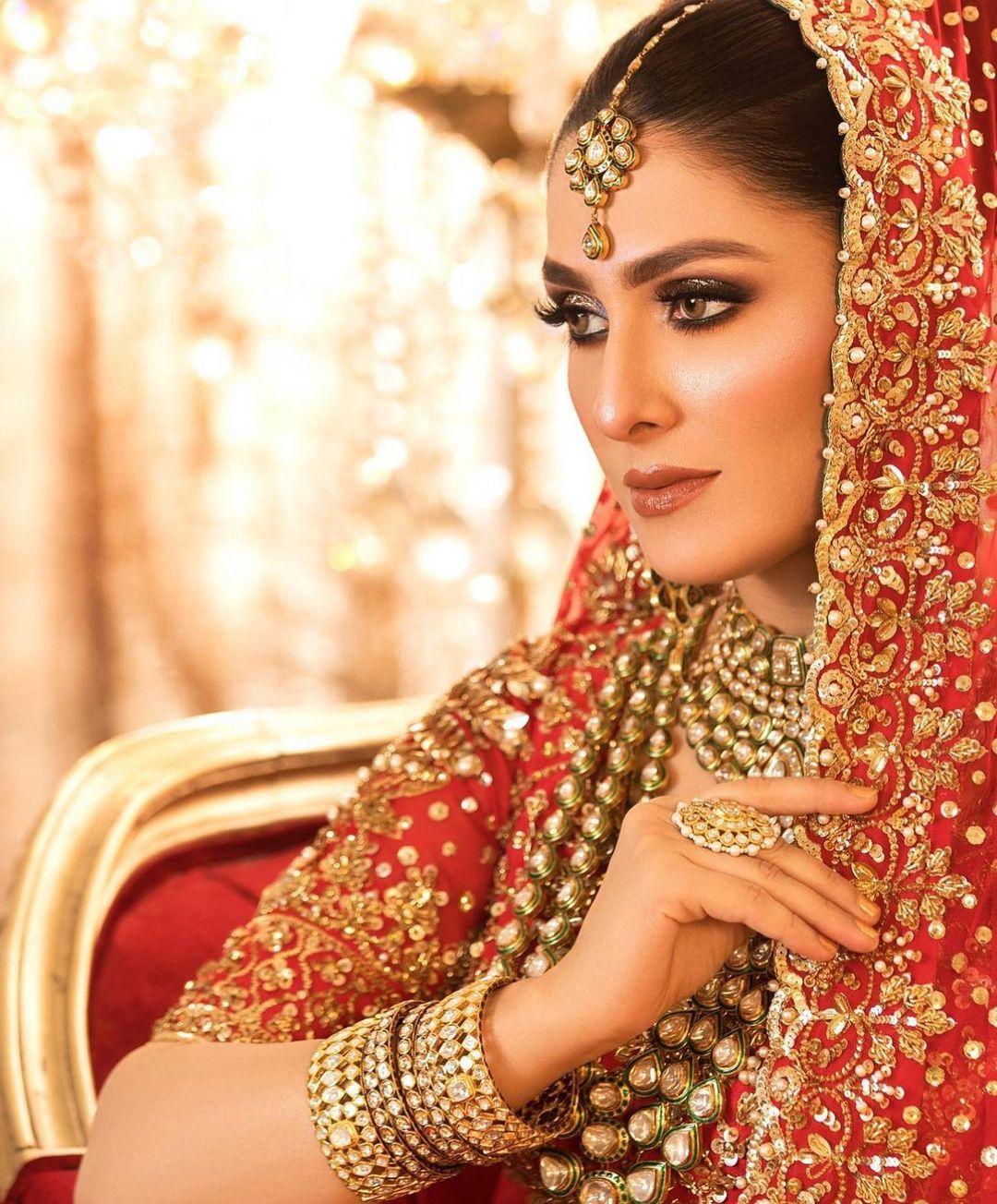 Ayeza Khan Latest Bridal Photoshoot