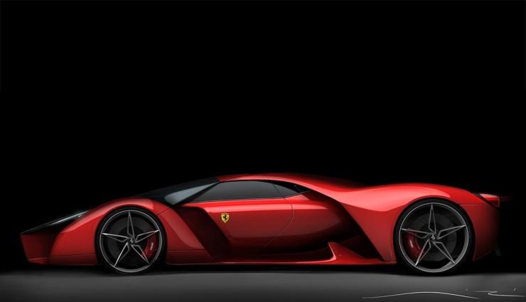 Ferrari F80 Price >> Ferrari,LaFerrari Hybrid V8 Successor Envisioned - Top Gear