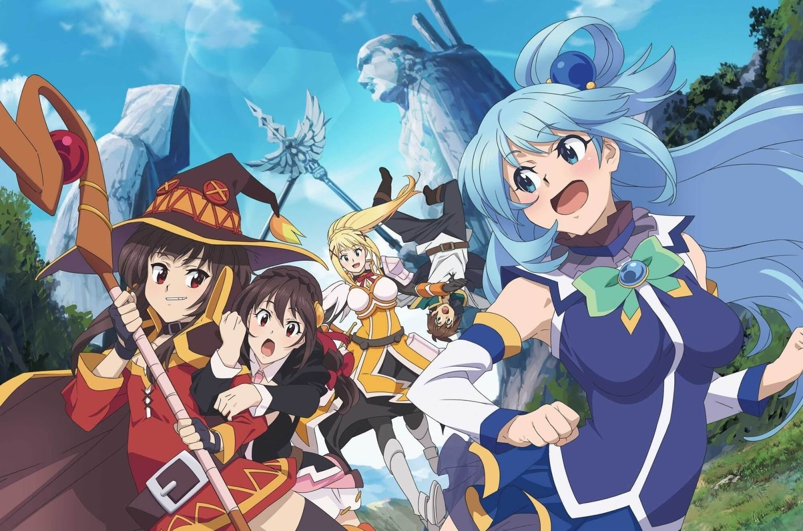 Kono Subarashii Sekai Movie 2000x1325%2B%25281%2529 - [ Vietsub Online bản CAM ] KonoSuba Movie : God's Blessing on this Wonderful World! Legend of Crimson