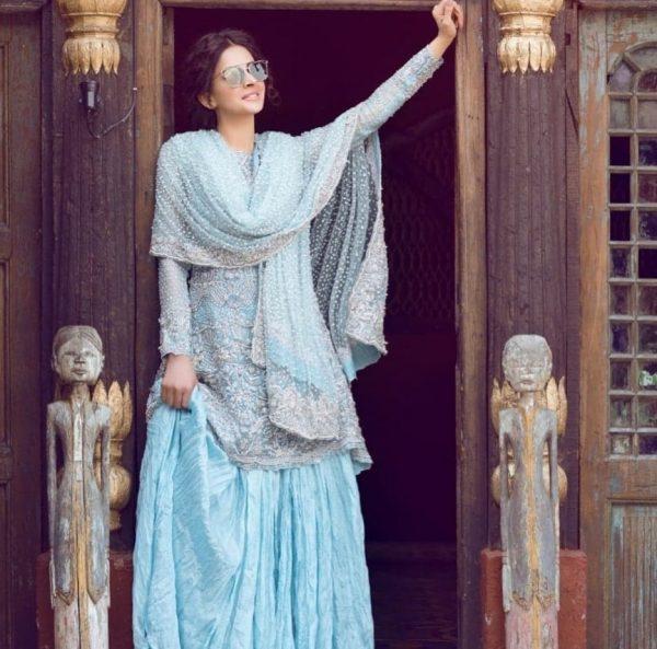 Lehenga Ideas from Famous Pakistani Celebrities