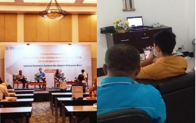 Media Workshop BPJS, Andayani; Faskes Jaga Kualitas Pelayanan Meski di Tengah Pandemi Covid19