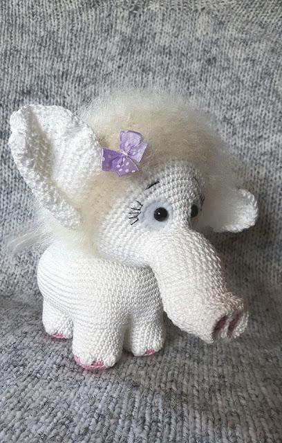 -mammoth -mammut -amigurumi -animal -crochet -heegeldamine -tüdruk -girl -handmade -käsitöö -loomad -mänguasi -pehme -plika