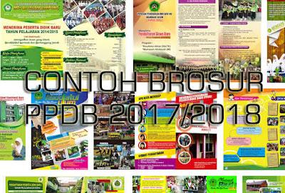 Contoh Brosur Penerimaan Siswa Baru Word Tahun Pelajaran 2017/2018