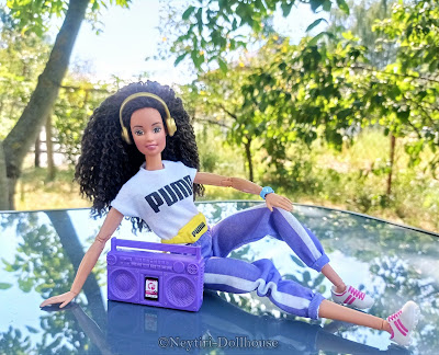 Mattel Barbie doll Puma SportTeresa reroot Made To Move MtM body
