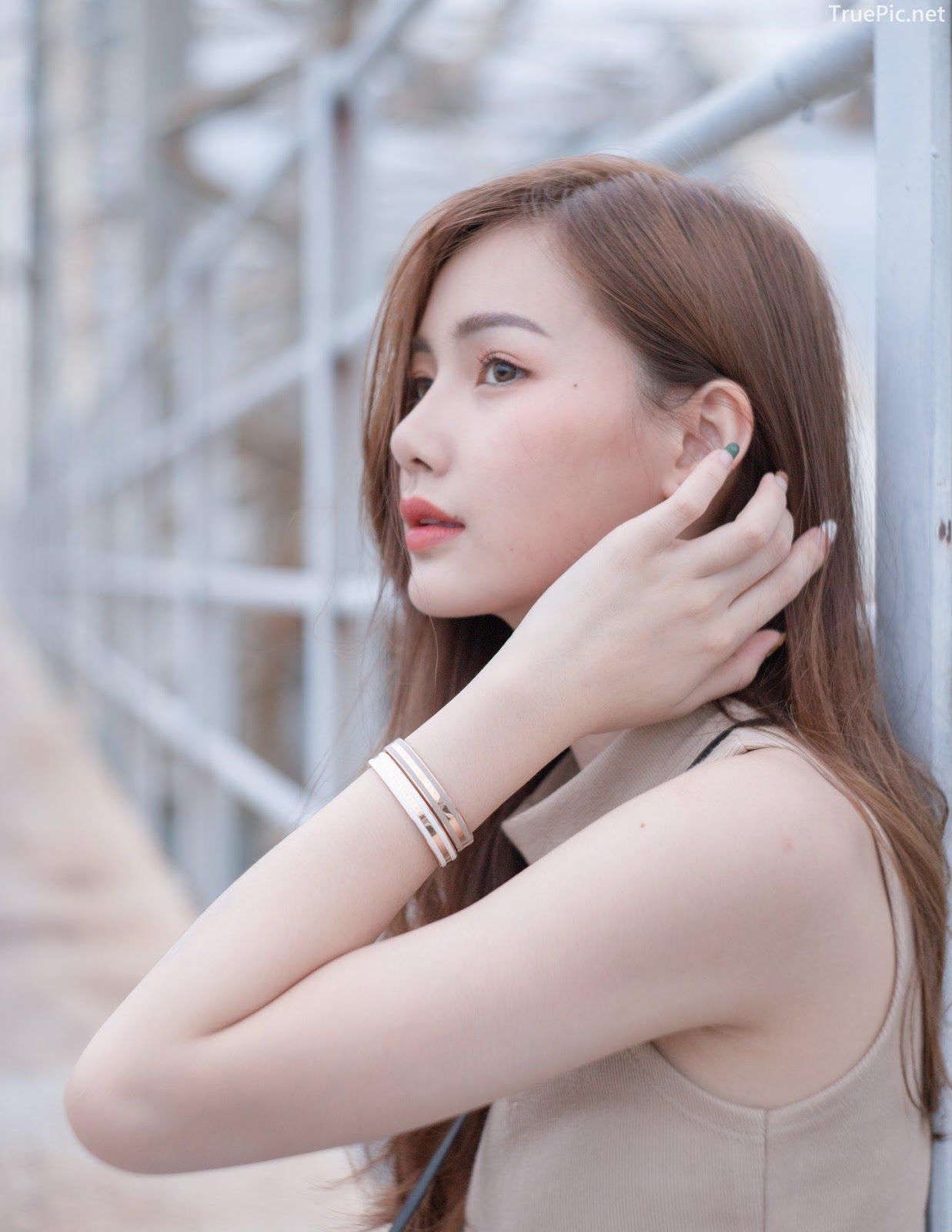 Thailand beautiful model - Pla Kewalin Udomaksorn - A beautiful morning with a cute girl - Picture 9