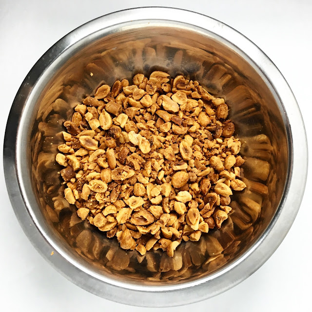 Bowl of Roasted Peanuts