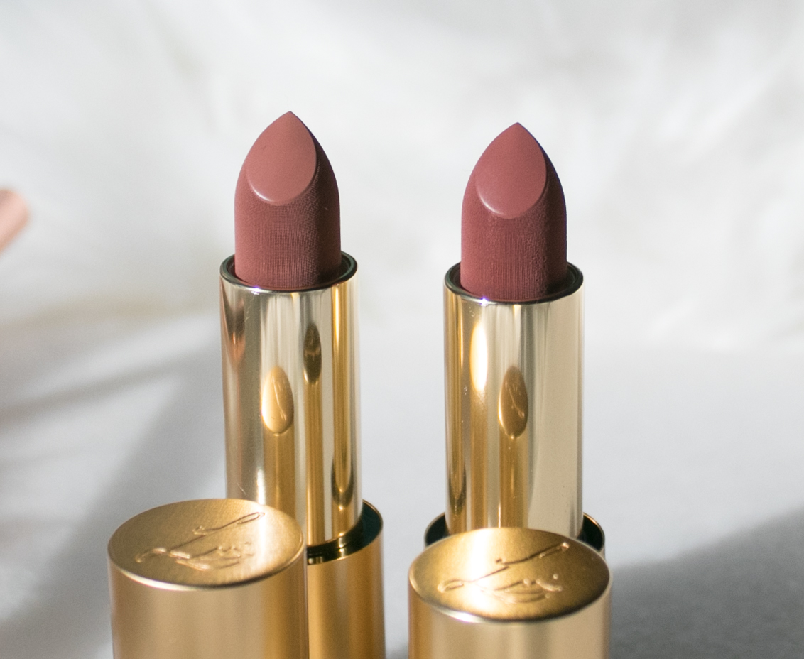 Lisa Eldridge True Velvet Lip Colours Velvet Fawn and Velvet Muse