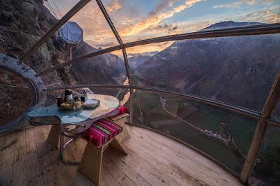 4. Skylodge Adventure Suites - Peru